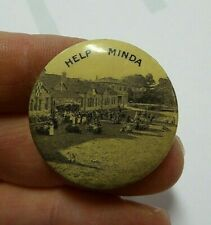 WW11 AUSTRALIAN   MINDA HOME HOUSE AND GROUNDS  BUTTON DAY BADGE