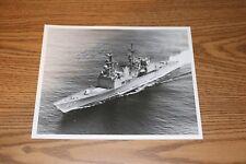 PHOTO Navy 8x10 Signed USN Captain - USS Hayler DD-997 Fred Stanley Bertsch III