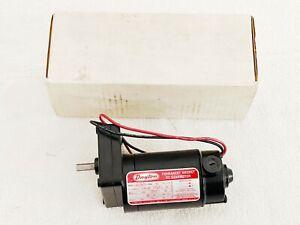 Dayton 4Z539A Permanent Magnet DC Gearmotor 102 RPM 31:1 Gear Ratio 1/3 HP USA