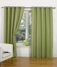 Luxury Hamilton McBride Canvas UnLined Ring Top Ready Made Curtains 8 Colours