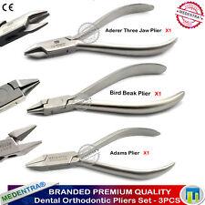 MEDENTRA ® Laboratoire Essentiel Pince orthodontique Adams trois Mâchoire contournage X3