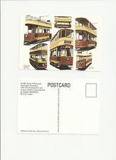 Warrington Tramways Sankey 1902-1935  Art Postcard by G S Cooper