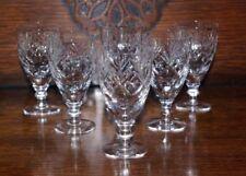 Wine Glass Clear Crystal Webb Corbett Crystal & Cut Glass