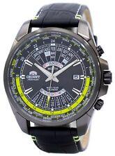 Orient automático Multi año calendario mundial tiempo EU0B005B reloj de hombres