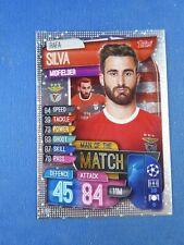 Topps Match Attax Champions League 2019/2020 Silva Man of The Match Benfica