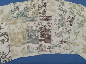 "Anna Griffin Fall Toile Cardstock 18 Sheets 5"" x 7"" Card Making"
