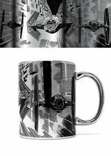 STAR WARS Metallic Style Mug TIE ATTACK