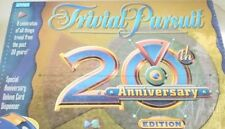20th Anniversary Edition Trivia Pursuit Game by Parker Brothers Past 20 years