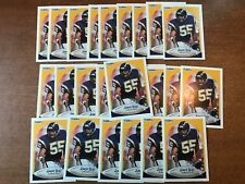 1990 Fleer Update Junior Seau Rookie RC Lot (26) U-102 MINT