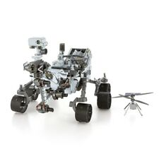 Fascinations Metal Earth Mars Rover Perseverance Ingenuity Helicopter Model Kit