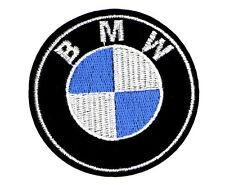 "BMW PATCH, EMBROIDERED BMW PATCH, LARGE 3"" DIAMETER, BMW APPLIQUE (LBMW-271)"