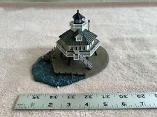 DANBURY MINT COLLECTIBLE LIGHTHOUSE HOOPER STRAIGHT LIGHT ST. MICHAELS, MD