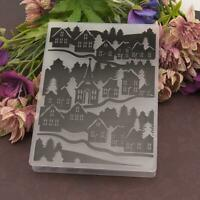 DIY Scrapbooking Plastic Embossing Template Folder Stencil for Album Card