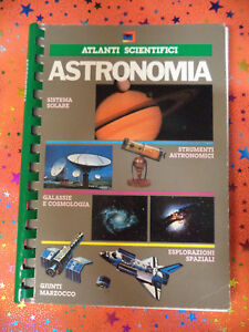 Book libro ASTRONOMIA Atlanti scientifici 1986 GIUNTI MARZOCCO (L79n)