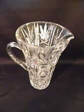 """Crystal Pitcher- Heavy 9"""" tall"""
