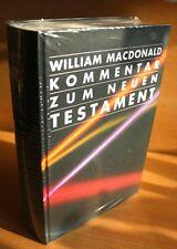 Kommentar zum Neuen Testament William MacDonald ISBN/EAN: 9783893973781
