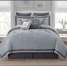 New Linden Street Silver Fern 4 Piece King Comforter Set $220