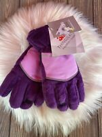 Snow Ski 3M Thinsulate Gloves Girls Size Small Pink/Purple - New