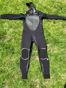 O'Neill Mutant Wetsuit 5:4 MM Firewall with Hood Size Medium Short
