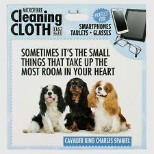 Cavalier King Charles Spaniel Microfibre Cleaning Cloth Tablet Phone Glasses
