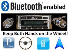Bluetooth Enabled '68-70 Ford Fairlane 300 watt AM FM Stereo Radio iPod, USB