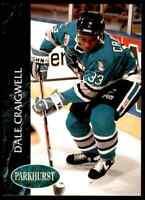 1993-94 Parkhurst Dale Craigwell #168
