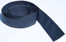 Gürtel Leder Binde Ledergürtel Schal Krawatte Riemen Leather Belt Gurt Blau