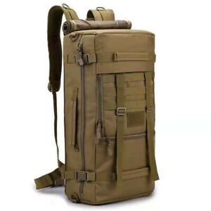 Military Tactical Army Backpack Camping Hiking Trekking Outdoor Rucksack Bag 70L