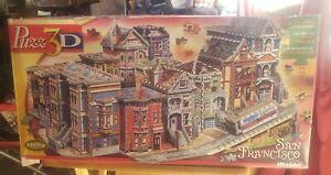 Wrebbit Puzz 3D San Francisco Puzzle-1512-Piece Challenge 100% complete