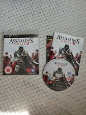 Assasin's Creed 2 PS3 Complete With Manual FAST POSTAGE