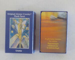 Tarotkarten, Aleister Crowley Thoth Tarot von Aleister Crowley