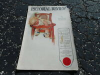 JAN 1924 PICTORIAL REVIEW vintage womans magazine - BABY - GREAT ADS