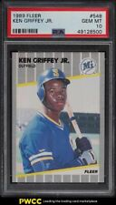 1989 Fleer Ken Griffey Jr. ROOKIE RC #548 PSA 10 GEM MINT