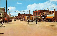 CANADA Postcard Chrome SHEDIAC New Brunswick Main Street 120