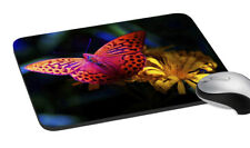 """Butterfly Printed Mouse Pad Multicolor Gaming Mouse Non-Slip Pad 7.2x8"""""""