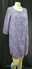 ATTENTION Women's Dress Shirt Tunic Dress shift sheath purple knee Size S SM NEW