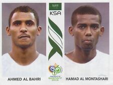 N°590 AL BAHRI AL MONTASHARI SAUDI ARABIA STICKER WORLD CUP GERMANY 2006 PANINI