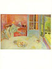 "LE COIN DE TABLE/"" COLOR offset Lithograph 1969 Vintage BONNARD /""STILL LIFE"