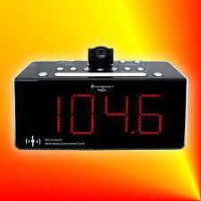Soundmaster FUR 6005 Radiowecker Funkuhrenradio Projektion IR-Sensor LED-Display