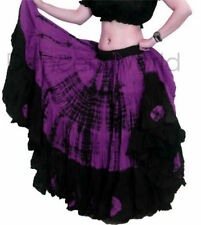 Danza del vientre ATS de Mujer Maxi falda de algodón de 25 yarda-ATS Dance