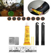 Bicycle Tire Repair Kit Tool Set Metal Rasp Tyre Lever Bike Repair Kit Patch