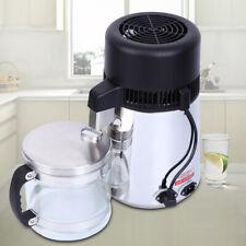 4L Pura Acqua Distillatore Filtro Distillata per RVs Medica Viaggio Hotel 1L/h