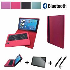 "Starter Set für Xiaomi Mi Pad 2 Bluetooth Qwertz Case + Folie + Pen Pink 7"" 3in1"
