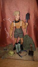 Dragon/DID-1/6 WW2-Afrikacorps-Uniformteile+Zubehör