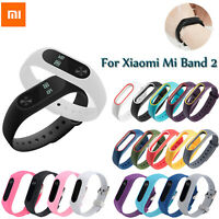 For Xiaomi Mi Band 2 Smart Watches Band Soft Silicone Strap Wristband Bracelet