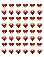 "48 SUPERMAN SEALS LABELS STICKERS ENVELOPE 1.2"" ROUND"