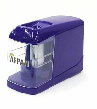 Battery Powered Desktop Pencil Sharpener/USB Operated Sharpener Purple - JD3003P