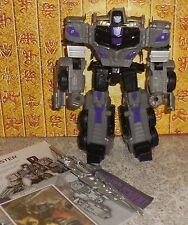 Transformers Combiner Wars MOTORMASTER Complete Hasbro Voyager w manual and bio