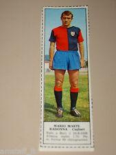 *+ MARIO MARTIRADONNA CAGLIARI=FIGURINA=1966/67=ALBUM FIGURINE CALCIATORI TEMPO