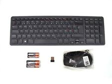 DELL KM713 Wireless Cordless Keyboard & Mouse Set Combo Kit NORDIC Layout REF